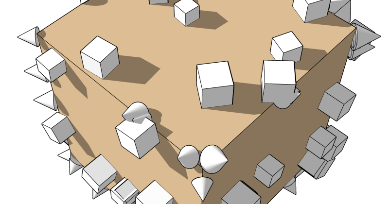 Just Published: Two New SketchUp Extensions (Random Tools & Scale By Tools)