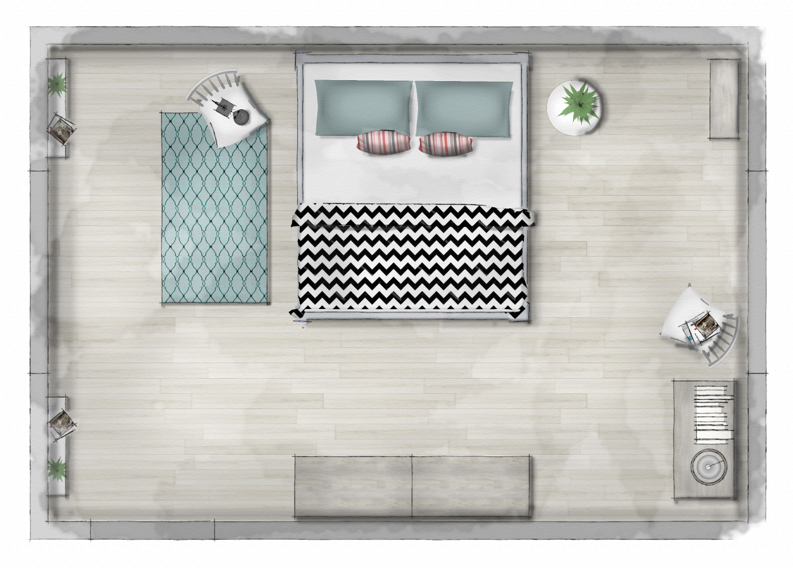new course how to render your sketchup plans sketchup hub rendered sketchup floor plan scandinavian inspired