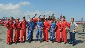 Para members JAT  usai mengikuti Pelangi Nusantara  Bali Aero Sport 2016, Senin (17/10).