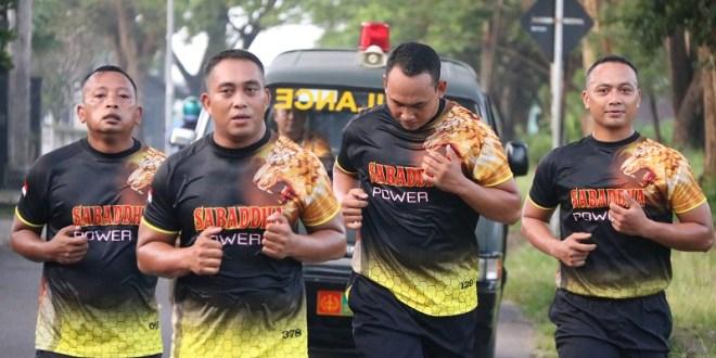 Jaga Stamina, Prajurit Yonif Raider 514 Kostrad Laksanakan Lari 10 K