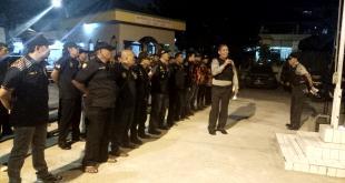 Lawan Anti Teror, Polsek Johar Baru  Jakarta Pusat Apel Bersama Organisasi Kantibmas