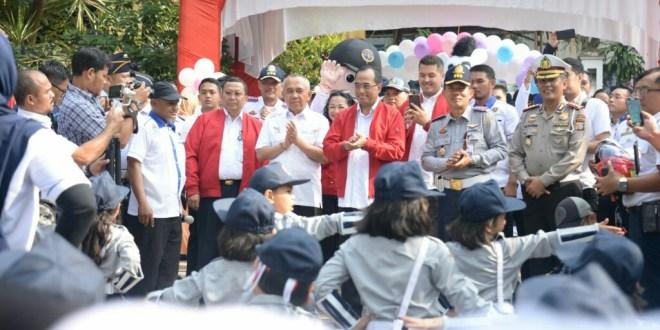 Menhub Kampanyekan Pekan Nasional Keselamatan Di Pekanbaru