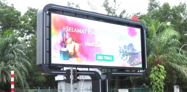 60 Reklame LED Thamrin – Sudirman Harus Dibongkar Pemprov DKI