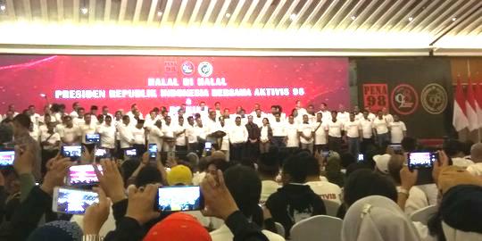 Jokowi Singgung Aktivis 98 Layak Jadi Menteri