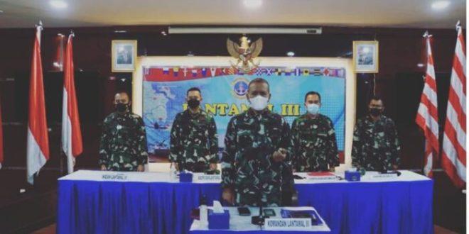 Komandan Lantamal III Hadiri Sosialisasi Unclos 1982 di Jajaran Koarmada I Tahun 2021