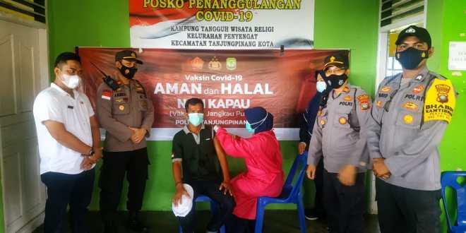 """Polres Tanjung Pinang Laksanakan Kegiatan Program """"NASI KAPAU"""""""