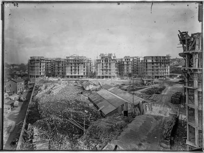 1930, 274 logements, 75018 Office Public d'habitations à Bon Marché, maître d'oeuvre © Archives Paris-Habitat-OPH