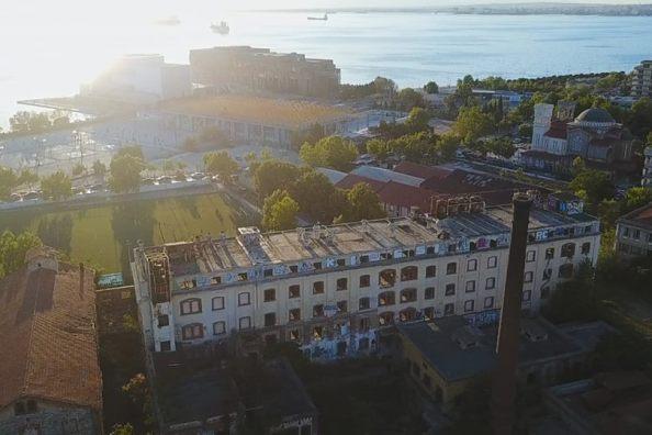 Το εγκαταλελειμμένο εργοστάσιο της πόλης