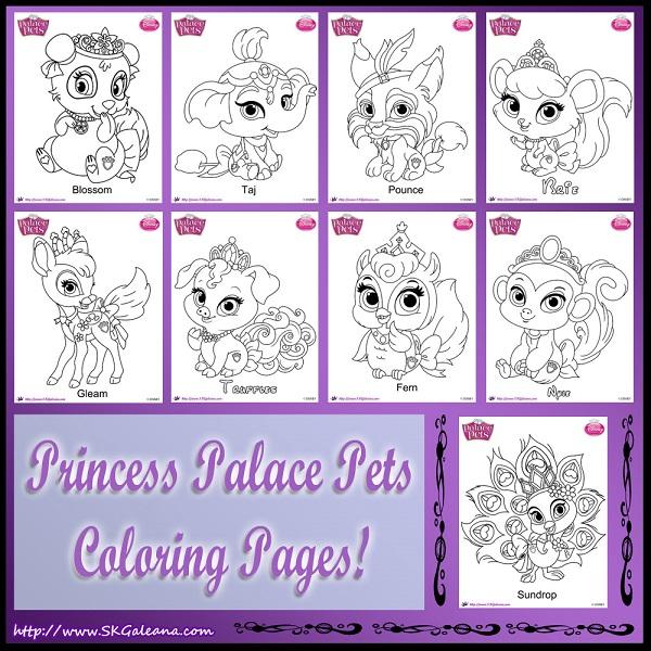 Elegant Kung Fu Panda Printables With Princess Palace Pets Coloring Pages