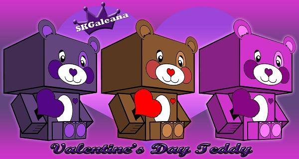 Valentine Teddy small