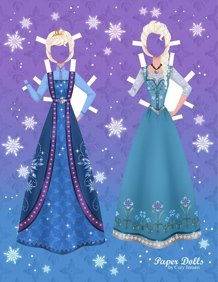 Disney S Frozen Printable Paper Dolls Skgaleana