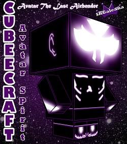 ATLA - aang avatar spirit 3D cubee small