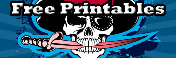 Free Pirate Printables on SKGaleana
