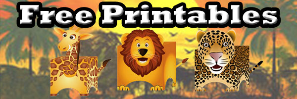 Free Printables Lion Leopards Uhu