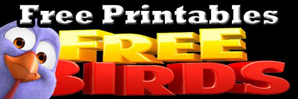 Free Birds Free Printables