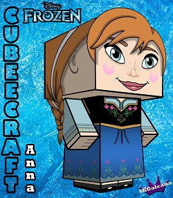 Disney Princess Frozen Anna 3D small