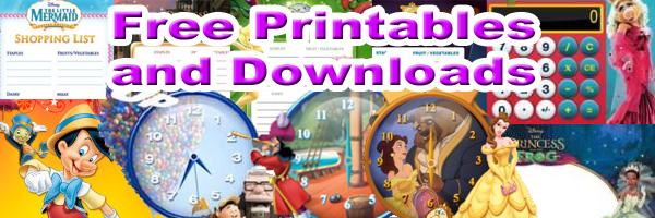 2010 Celebrate you Disney Downloads and Printables SKGaleana