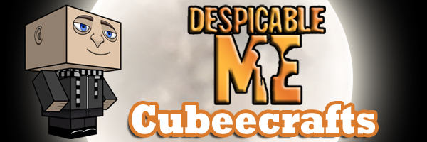 Despicable Me Cubeecrafts by SKGaleana