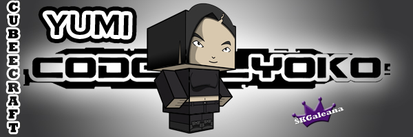 Yumi Code Lyoko Cubeecraft by SKGaleana
