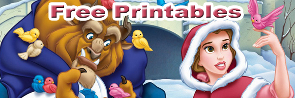 Beauty And The Beast Printables SKGaleana