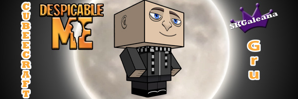 Gru cubeecraft by SKGaleana