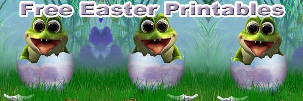 Free Disney Easter Printables SKGaleana