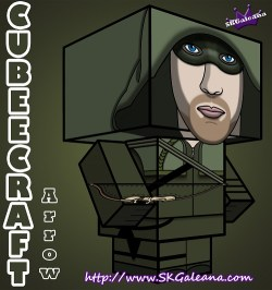 Arrow Cubeecraft 3d by SKGaleana small