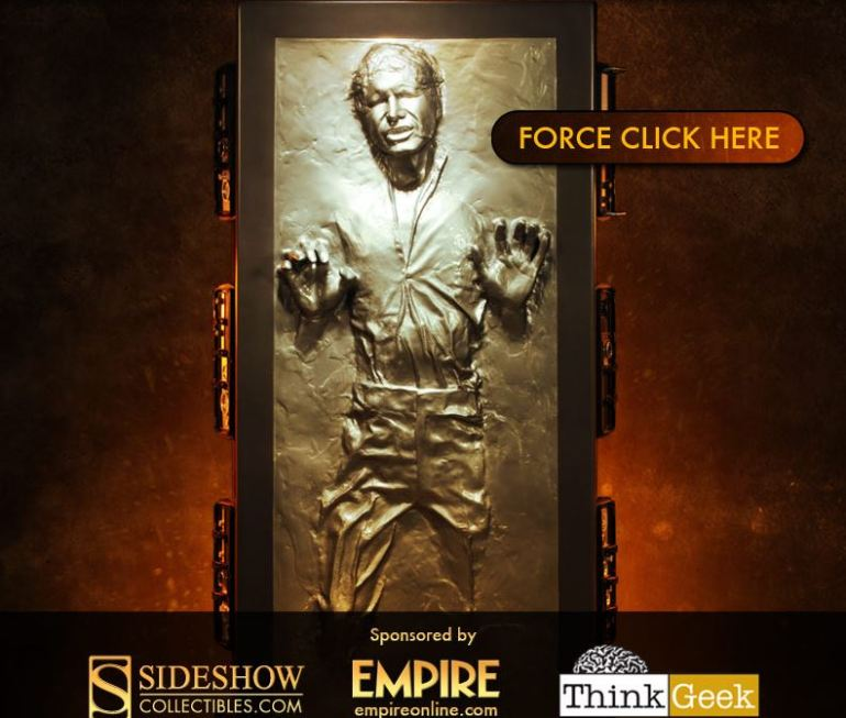 Han Solo in Carbonite Giveaway
