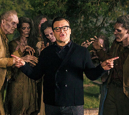 Jack Black as RL Stine
