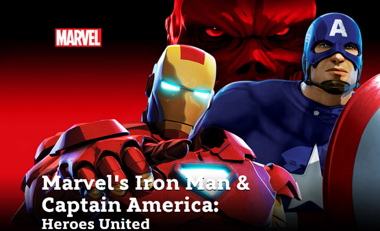 Marvels Iron Man & Captain America Heroes United