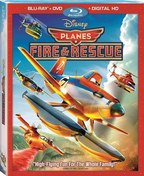 Planes Fires And Rescue Bluray SKGaleana