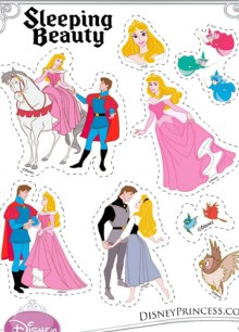 Free Disney Sleeping Beauty Printables Activities And