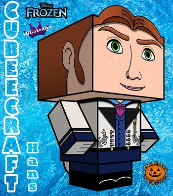 Disney Frozen Hans 3D Cubeecraft small by SKGaleana