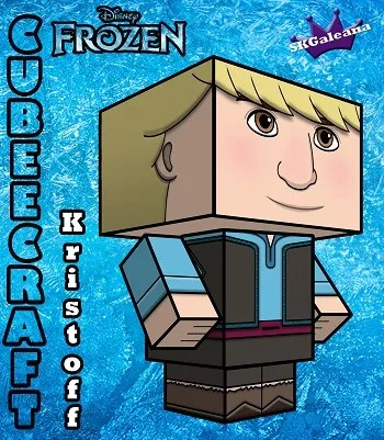 Disney Princess frozen Kristoff 3D SKGaleana small