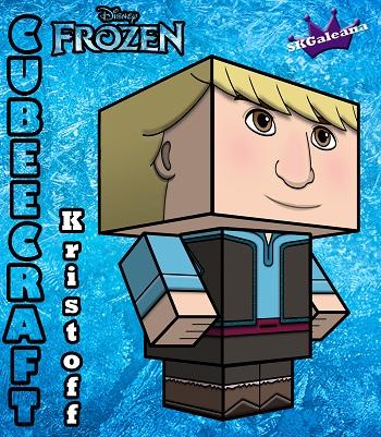 Disney Princess frozen Kristoff 3D SKGaleana small