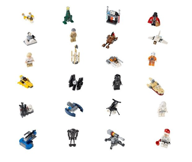 Star Wars Lego Advent Calendar3