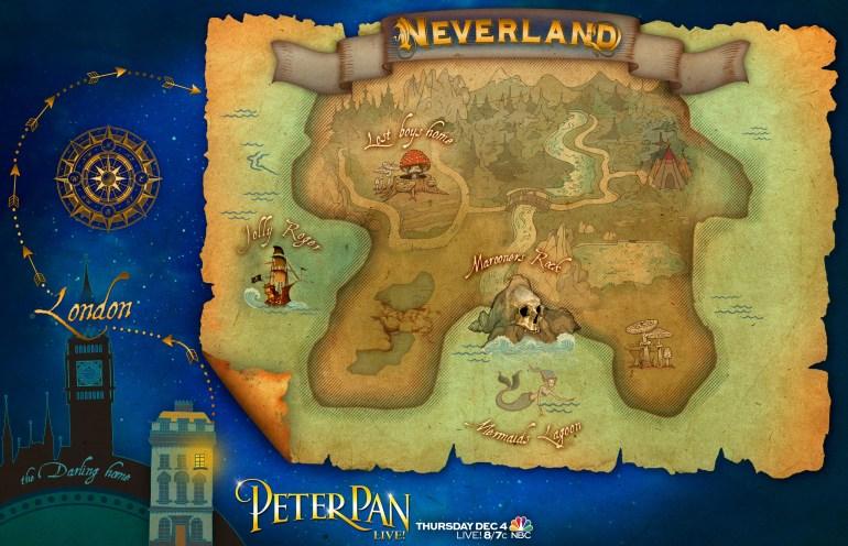 PeterPan-NeverlandMap
