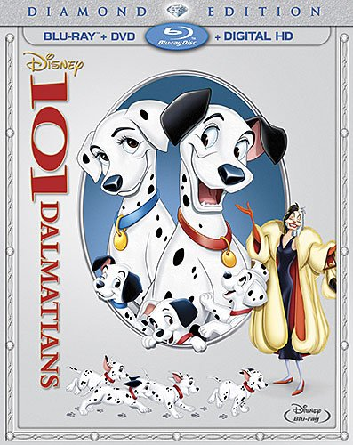 101 Dalmatians on Blu-ray and DVD SKGaleana