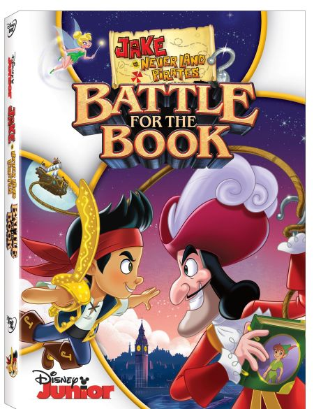 DisneyJakeAndTheNeverLandPiratesBattleForTheBookDVD