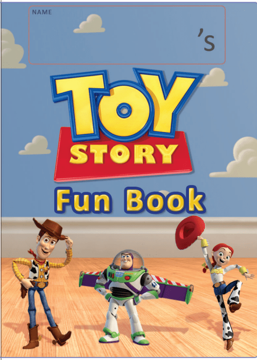 toystory fun book