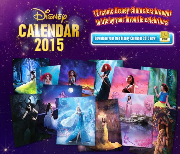 Disney Asia Calendar 2015 SKGaleana