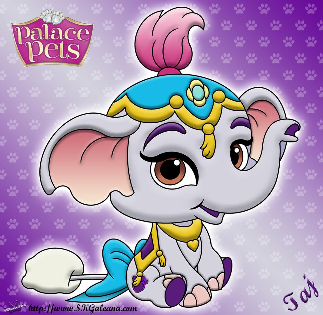 Disney Princess Palace Pets Taj Coloring Page