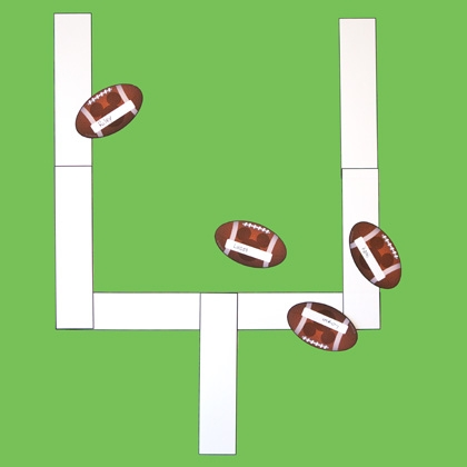Wall Foot Ball Game