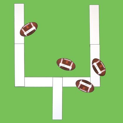 Wall Foot Ball Game