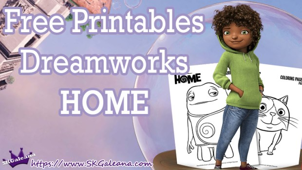 Free Printables From Dreamworks Home