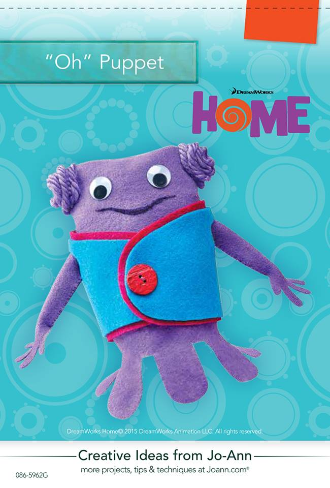 Oh Puppet from Dreamworks Home SKGaleana