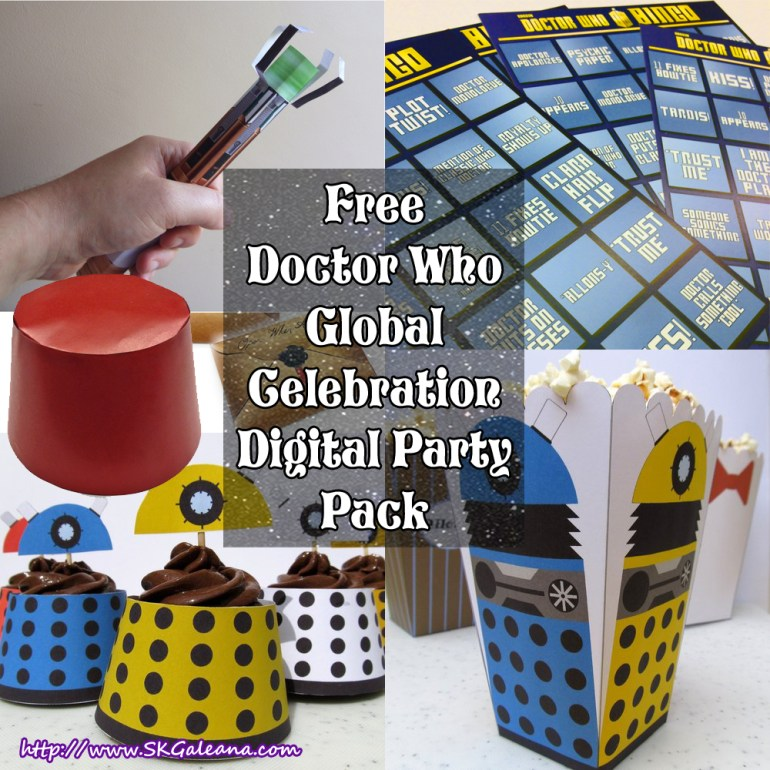 Doctor Who Global Celebration Digital Party Pack image