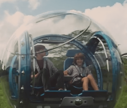 Jurassic World bubble Car