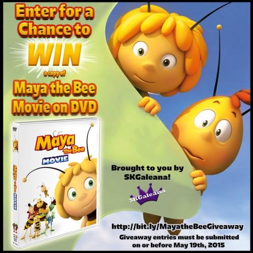Maya the bee giveaway