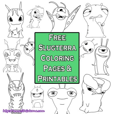 Slugterra Coloring Pages SKGaleana